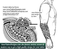 polynesian tattoos custom tattoos made to order by juno