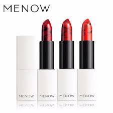 sexy color menow brand make up sexy color lipstick moisturizing lock color all