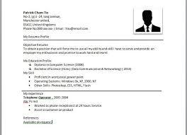 10 best images of simple resume samples simple resume examples