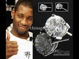 diamond earrings on guys black diamond earrings for men