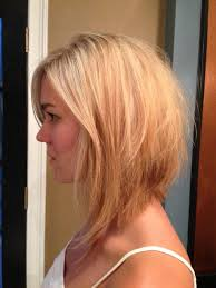 medium length bob with layers
