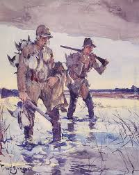 frank weston benson two duck hunters