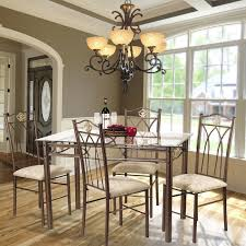 Glass Top For Dining Room Table Dining Room Set With White Leather Chairs And Glass Table Top