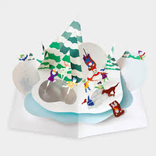 moma christmas cards tis the season for mailboxes