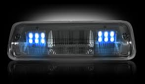 2008 ford f250 tail light bulb 2004 2008 f 150 recon led 3rd brake light smoked r264124bk