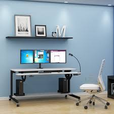 Computer Desk Work Station Bi Level Computer Workstation Desk Afcindustries Com