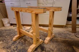 woodworking building boss saw horses how to youtube