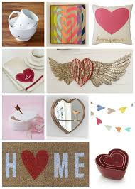 Heart Decorations Home Decorating For Valentine U0027s Day Heart Themed Home Goods Holiday