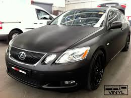 lexus black paint vehicle vinyl wrapping and car paint protection 2