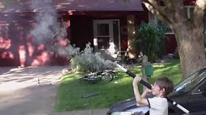 Backyard Artillery Homemade Artillery Shell Rpg Youtube