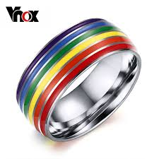 aliexpress buy vnox 2016 new wedding rings for women aliexpress buy vnox pride wedding rings for women and
