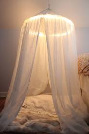Diy Canopy Bed With Lights Diy Canopy That Will Make Your Bedroom Feel Like A