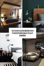 Bedroom Furniture Ideas 35 Masculine Bedroom Furniture Ideas That Inspire Digsdigs
