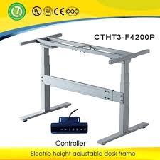 desk ikea adjustable standing desk hack electric single motor