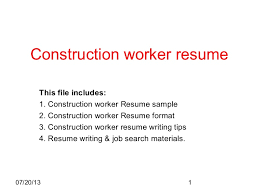 sle construction resume template bmc education text assessment of higher order