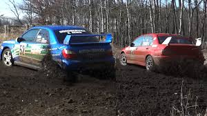 mitsubishi evo rally wallpaper crazy loud sounds lancer evo vs impreza wrx sti youtube