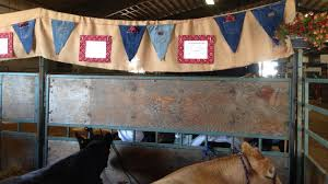 how to decorate for a county fair cattle search show