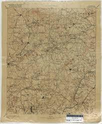 Georgia Road Map Georgia Historical Topographic Maps Perry Castañeda Map