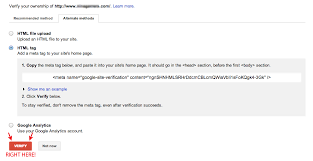 google webmaster tools verification semper plugins