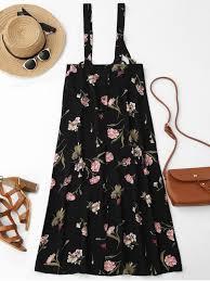 floral maxi suspender skirt floral skirts m zaful
