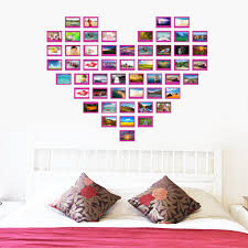 compare prices on family heart wall stickers online shopping buy heart design photo frame wall sticker family forever memory wall decals 8521 removable pvc wall sticker