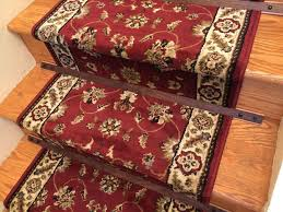 Rug For Stairs Steps Wooden Stair Rods For A Rug Runner 5 Steps With Pictures