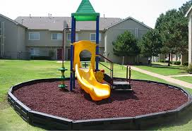 2 by 2 plastic playground borders diamond safety concepts