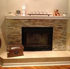minimalist living room style with propane gas powered fireplace