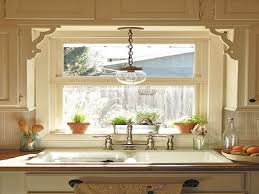 pendant light above kitchen sink