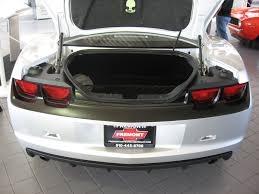 camaro forums 5th custom flat black stripe and rear panel on silver pics camaro5