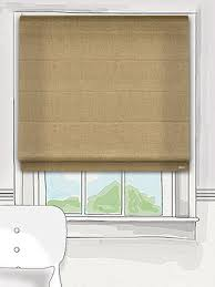 Thermal Lined Roman Blinds This Infusion Hessian Roman Blind Has A Gorgeous Sandy Tone That
