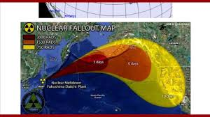 Nuclear Fallout Map by Medical Implications Of Fukushima Nuclear Disaster Youtube