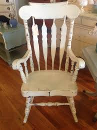 shabby chic rocking chair nursery pinterest rocking
