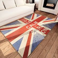 Area Rugs Uk Keep Calm And Carry On Floor Carpet Uk Flag Style Area