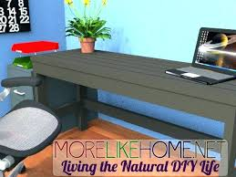 Wood Desk Ideas How To Make A Computer Desk Out Of Wood Best Pallet Desk Ideas On