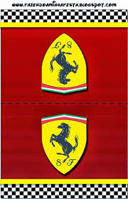 ferrari porsche logo ferrari free printable cards or invitations gian u0027s 1st