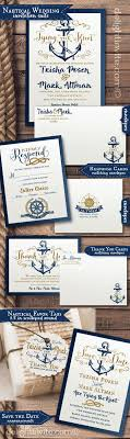 nautical themed wedding invitations best 25 nautical wedding ideas on nautical wedding