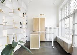 store interior design thisispaper studio creates minimal interior for first design shop