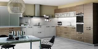 cuisine alu et bois cuisine et bois agencement de cuisine à ève cuisine