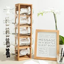 wine bottle guest book check out this diy message in a bottle guest book