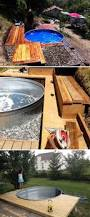 Diy Backyard Pool by Diy Galvanized Stock Tank Pool To Beat The Summer Heat Amazing