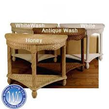 half round console table wicker console table home décor furniture
