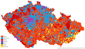 Czechoslovakia Map Czech Republic 2013 World Elections