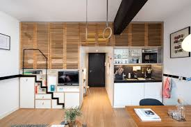 3 Room Flat Interior Design Ideas 4 Awesome Small Studio Apartments With Lofted Beds