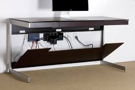 How To Organize Cables On Desk by Hide Computer Cords On Desk Best Home Furniture Decoration