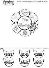 spring math and literacy printables and worksheets for pre k and