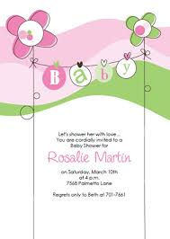 invitation templates for baby showers free baby shower invitation templates