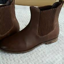 s ugg australia brown joey boots 28 ugg shoes ugg ingrid chunky heel combat boots brown size