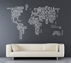 world map with country names contemporary wall decal sticker 81 best for the home images on vinyls wall stickers