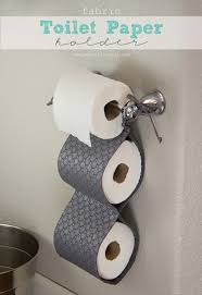 diy fabric toilet paper holder space saver toilet paper and toilet
